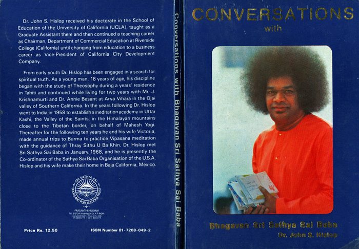 Cover of Conversations... b y John Hislop
