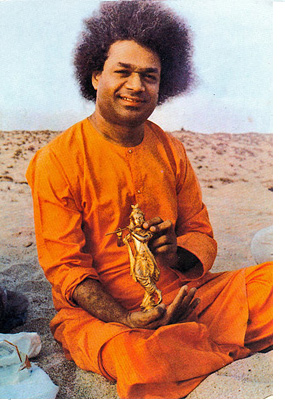 Krishna gold statuette allegedly 'materialized' by Sathya Sai Baba