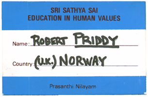 Robert Priddy EHV badge
