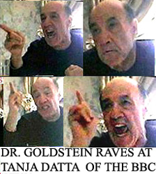 Dr. Michael Goldstein raving on BBC film