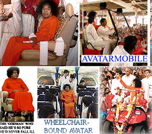 Sai Baba wheelchair invalid from 2002 onwards