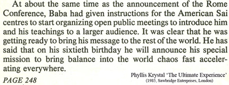 Phyllis Krystal quote from 'The Ultimate Experience'